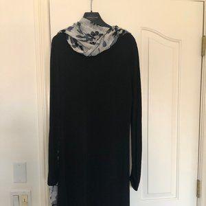 Perfect Black Dress, Adrienne Vittadini, Sz 8